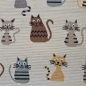 Preview: CANVAS  JACQUARD - Katzen
